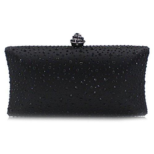 pour Noir Bag Evening femme YYW Pochette xqZnPt0wfY