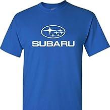 Subaru Logo on a Blue T Shirt