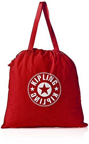 Kipling Hiphurray Fold Rojo Lively Mujer Bolsos totes New L Red r5nr4