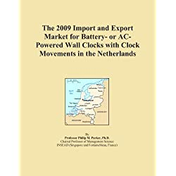 The 2009 Import and Export Market for Battery- or AC-Powered Wall Clocks with Clock Movements in the Netherlands