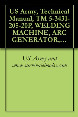 US Army, Technical Manual, TM 5-3431-205-20P, WELDING MACHINE, ARC GENERATOR, GED, 300 AMP, DC (LIBBY WELDING MODELS LE-300) (FSN 3431-810-9696), (MODEL ... AND (MODEL LEB-300) (3431-072-0327)