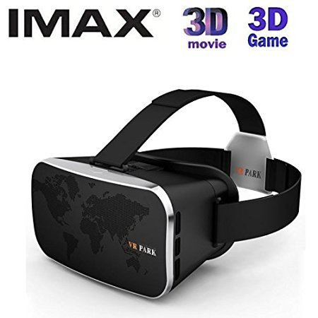 VR-Park V3 3D Virtual Reality Glasses VR BOX Helmet Google Cardboard For 4.0 To 6.0 Inch Smart Phone