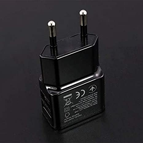 Peanutaoc 1A Adaptador de Corriente Dual USB portátil ...