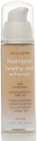 Neutrogena Healthy Skin EnTancer, Fair ho Light 20, 1 Ounce Pack of 2