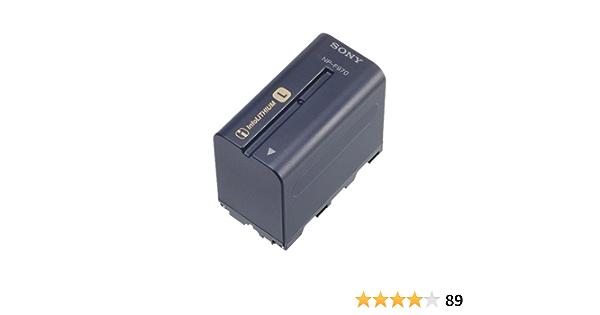 Sony ACVQ1051D Cargador para bater/ías InfoLITHIUM de la Serie L