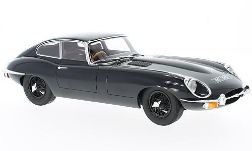 Jaguar E-Type Coupe series 2, dark blue, RHD, 1968, Model Car, Ready-made, Cult Scale Models 1:18