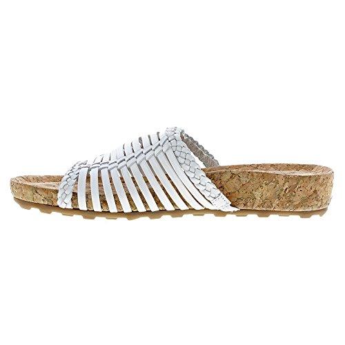 Slides Sandal Cradles Piece Antanado Soft cork S White Wrap Women Walking N wqX1I1dS