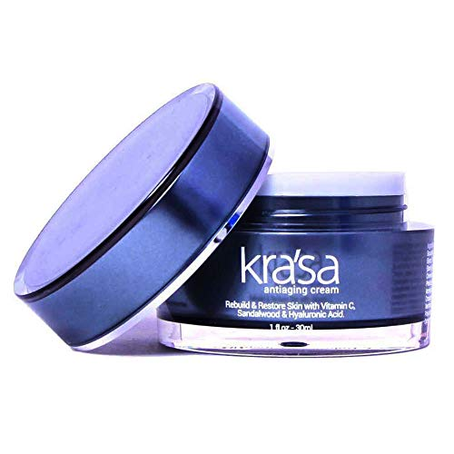 (Krasa Anti-Aging Cream for Fines Lines & Wrinkles- Improves Skin Radiance, Texture and Skin Tone with COCOA SEED BUTTER, TOMATO FRUIT EXTRACT, PYRUS MALUS (APPLE) EXTRACT)