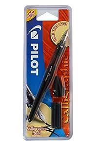 PILOT FCDBBB - Pluma estilográfica extra grande+Cartucho de Tinta Negro 1.00mm, color azul
