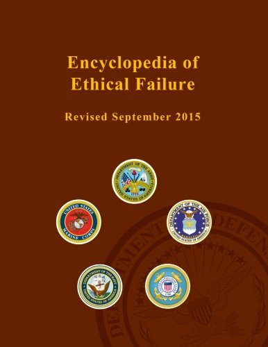 encyclopedia of ethical failure • provides clear definitions and explanations of all areas of ethics including the topics, movements, arguments, and key figures in normative ethics, metaethics, and practical ethics • covers the major philosophical, legal and religious traditions.