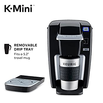 Keurig K-mini K15 Single-serve K-cup Pod Coffee Maker, Black 2