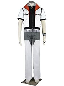 Kingdom Hearts Roxas 1st Version Cosplay Costume Xcoser (Size, S, M, L, XL, XXL, XXXL)