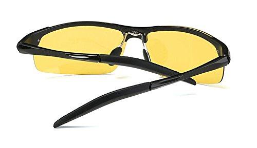 Lennon polarisées du de en Noir lunettes métallique cercle retro rond inspirées soleil Cadre style vintage I8nqE