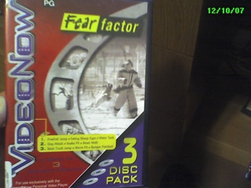 VideoNow 3 Disc Pack Fear Factor by Video Now