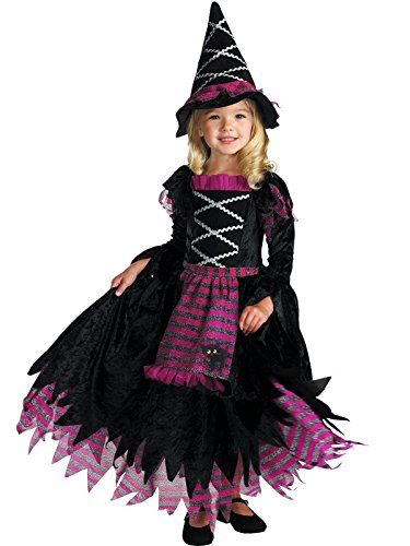 Fairytale Witch Girls Costume, -