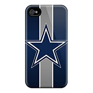 Awesome Dwk1973uwrM Elaney Defender Tpu Hard Case Cover For Iphone 4/4s- Dallas Cowboys