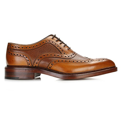 Loake Hommes Marron Funnelweb Brogue Chaussures