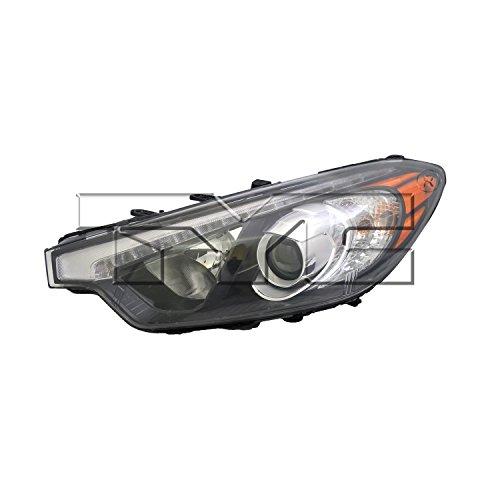 TYC 20-9462-00-1 Kia Left Replacement Head Lamp ()