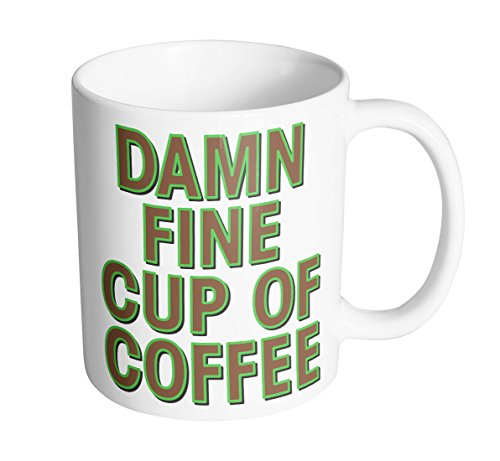 Damn Fine Cup Of Coffee 11 oz. Mug (1 Mug) (Peaks Coffee Twin)