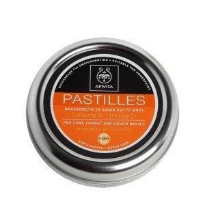 Apivita Pastilles with Liquorice & Propolis 45gr