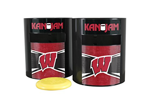 (Kan Jam NCAA Wisconsin Badgers Disc Gamewisconsin Badgers Disc Game, Team Color, 11.875