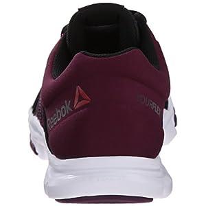 Reebok Women's Yourflex Trainette 8.0L MT Training Shoe, Black/Celestial Orchid/White, 7.5 M US