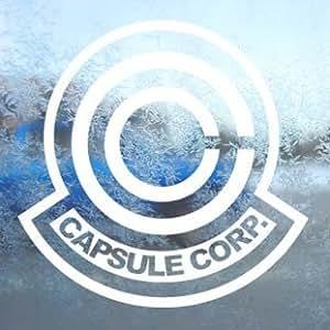 adhesivo Dragonball White Decal DBZ Capsule Corporation Car White Sticker