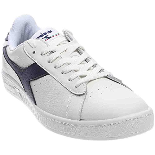 Adults' Unisex High Tennis Waxed Game Shoe Sea White L Caspain Diadora Blue nU1gqwdx1