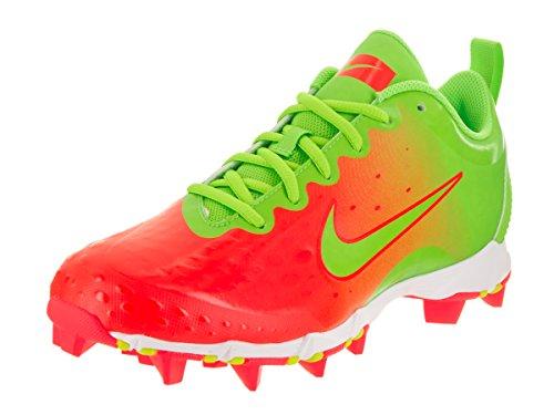 Nike Women's Hyperdiamond 2 Keystone Softball Cleat (8 B(M) US, Electric Green/Bright Crimson/Bright Mango/Electric Green)