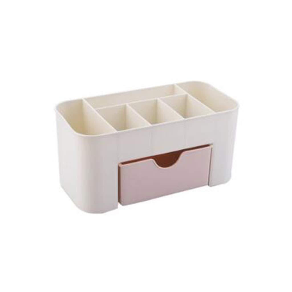 DDPGOFMB Cosmetic Organizer Cosmetic Organizer European Household Cosmetic Storage Box Dressing Table Bedroom Finishing Box Drawer Simple Rack (Color: 01) (Color : 1, Size : -)