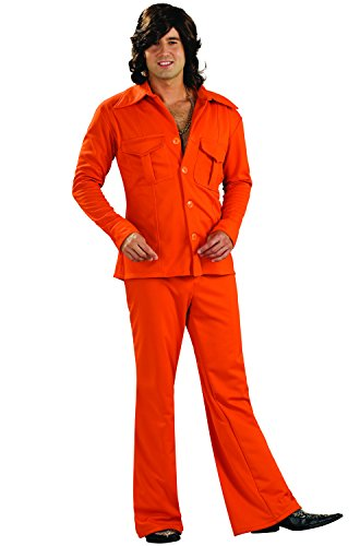 Polyester Leisure Suit (Rubie's Costume Co. Leisure Suit Costume, Standard/One Size,)