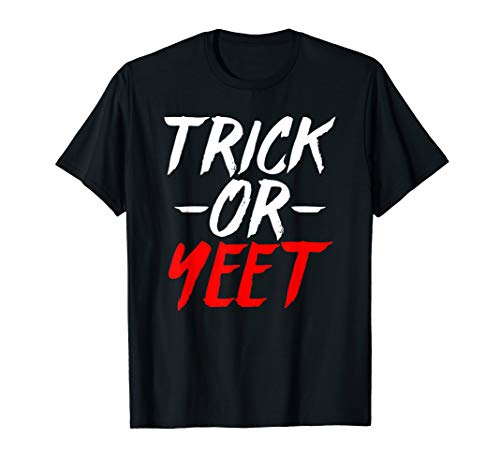 Halloween Pun Meme (Trick Or Yeet - Humorous Fun Halloween Costume Party Meme)