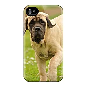 Protector Hard Cell-phone Cases For Apple Iphone 4/4s With Custom Trendy The English Mastiff Pattern WayneSnook