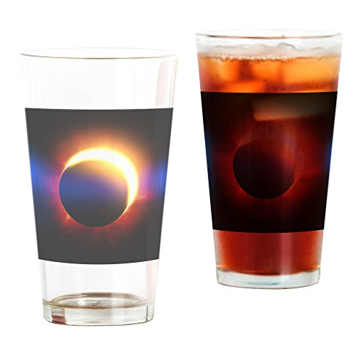CafePress - Solar Eclipse - Pint Glass, 16 oz. Drinking Glass by CafePress