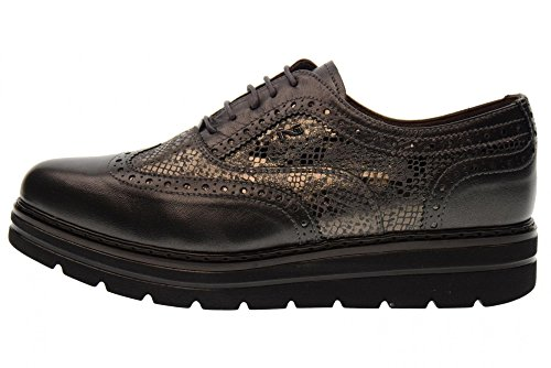 Anthracite À 101 Chaussures Nero Avec Coin Giardini Lacets A719397d aTwgnP8q