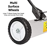 TUFFIOM 36-Inch Rolling Magnetic Pick-Up Sweeper
