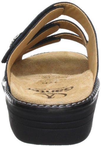Ganter Hera, Weite H 5-205809-01000 - Zuecos de cuero para mujer Negro (Schwarz (schwarz 0100))