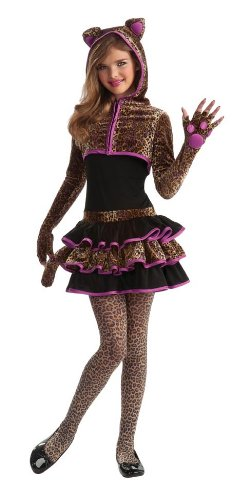 [Rubie's Drama Queens Tween Leopard Costume - Tween Small (0-2)] (Party City Animal Costumes)