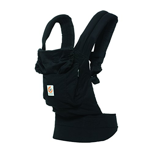 Ergobaby Front and Back Original Baby Carrier, Pure Black