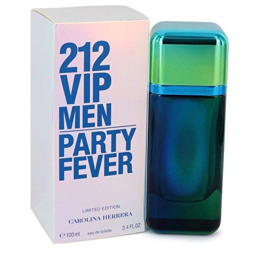 212 VIP Men Party Fever by Carolina Herrera Eau de Toilette Spray ()
