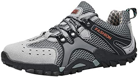 Hiking Shoes Non-Slip wear-Resistant Sports Walking Shoes Cross-Country Running Shoes Breathable Lightweight Outdoor