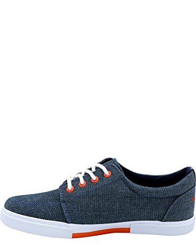 Nautica Boys' Berrian Low-Top Sneakers (Sizes 13-5) - Chambray Blue, 5 Youth by Nautica (Image #1)
