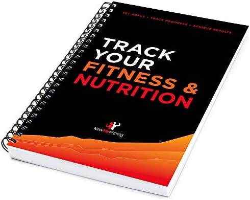 Workout/Fitness and/or Nutrition Journal/Planners - Designed by Experts, w/Illustrations : Sturdy Binding, Thick Pages & Laminated, Protected Cover 2