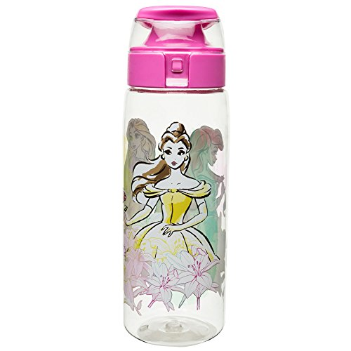Disney Princess Bottle - Zak Designs PRYF-K950-AMZ Disney Princess Water Bottles, Tritan