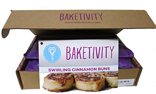 Baking and Activity Kit - Cinnamon Buns