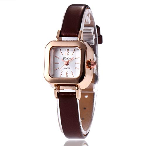 Dial Brown Leather Band - 8