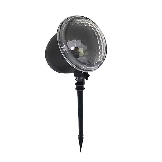 Nevadas LED Función de Las Luces de proyector Multi Decoración ...
