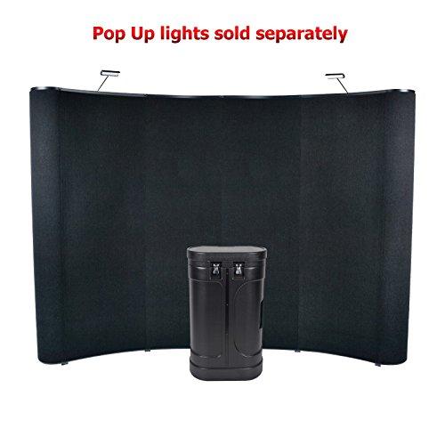 10' Wave Pop Up Panel Display (Hook & Loop)