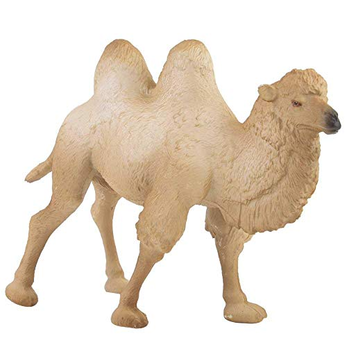 Camel Miniature - Liukouu Miniature White Camel Figurine Animal Model Home Decor Kid Children Educational Toys