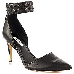 Guess Evanne Women US 6 Black Open Toe Heels